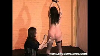 Amateur Girlfriend Tied Down getting whipped and spanked