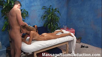 Massage Rooms Czech teen brunette Keira Flows discovers intimate erotic thrills with romantic sex