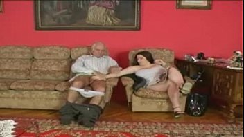 Bad girl get caught by dad an he's pissed